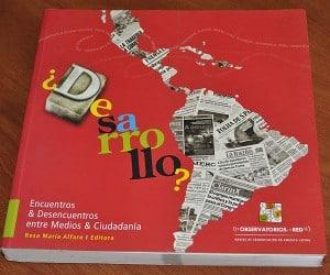 Portada del libro Encuentros y Desencuentros entre Medios y Ciudadanía.
