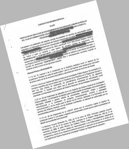 Fundamedios accedió a uno de los contratos firmados entre una Gobernación y una radio comunitaria en la que consta las obligaciones a las que se somete el medio. Descargue el contrato completo aquí.