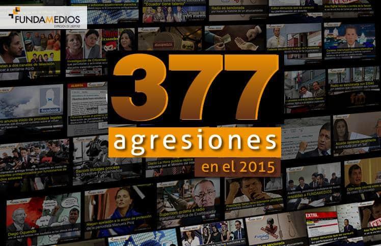 377 agresiones