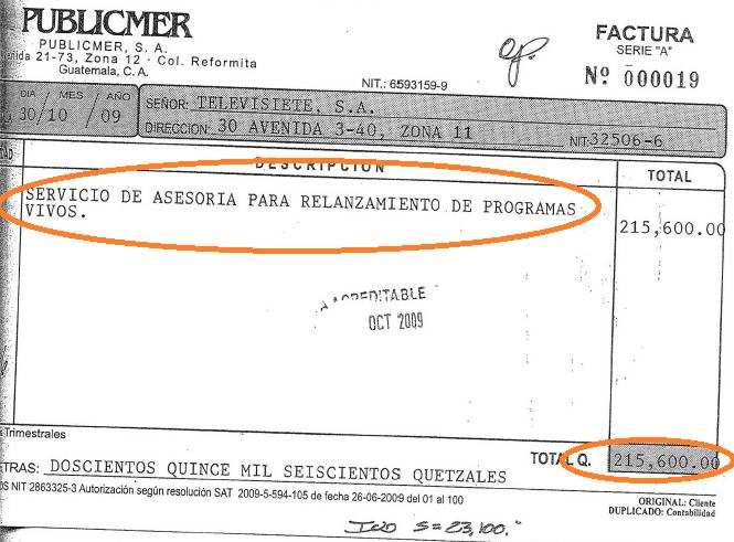 Factura Publicmer-Televisiete