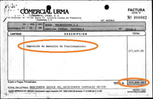 Factura Urma-Televisiete 4