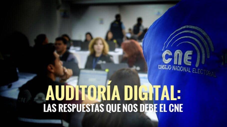 auditoria digital foto